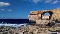 Azure Window na wyspie Gozo - Malta 2016.XI.29