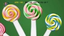 Lollipop Finger Family Nursery Rhyme | Lollipop Finger Family Song | Lollipop Daddy Finger