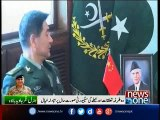 Chinese commander calls on COAS, discusses CPEC security