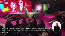Standing-Ovation pour le président François Hollande à la Grande Convention Nationale de la BAP