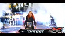 Becky Lynch vs Alexa Bliss WWE Tables Women's Championship Match WWE TLC 2016 Highlights