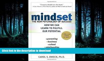 Audiobook Mindset: The New Psychology of Success Kindle eBooks