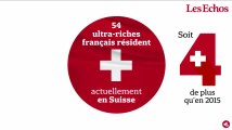 Suisse : de plus en plus d'ultra-riches français en Suisse voient la vie en rouge et blanc