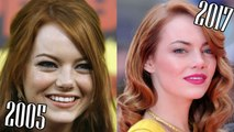 Emma Stone  (2005-2017) all movies list from 2005! How much has changed? Before and After! The Help, The Amazing Spider-Man, Easy A, Zombieland, Crazy, Stupid, Love.