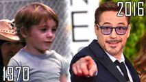Robert Downey Jr.(1970-2016) all movies list from 1970! How much has changed? Before and Now! Iron Man, Sherlock Holmes, The Avengers, Sherlock Holmes: A Game of Shadows, Chaplin, Pinocchio