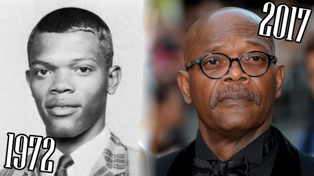 Samuel L. Jackson (1972-2017) all movies list from 1972! How much has change? Before and After!