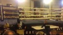 Quentin Leclerc(Muay Thai Vendinois) vs giovanni palmas (KTB Rosult) Finale championnat régional muay thai Waziers Novembre 2016 FFKMDA