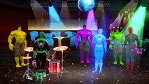 Spiderman Hulk Singing Club Super Heroes Dancing And Singing Video With Lyrics