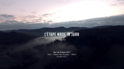 Ep.1 / Tour de France 2017 : 4 clips, 4 saisons sur les routes du Jura