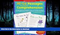 READ Hi-Lo Passages To Build Reading Comprehension Skills: Grades 3-4 (Hi-Lo Passages To Build