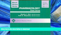 Read Book BRS Pharmacology Flash Cards (Board Review Series) Kindle eBooks
