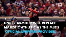 Under Armour scores first major league deal ever with MLB
