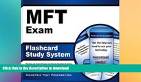 Hardcover MFT Exam Flashcard Study System: Marriage and Family Therapy Test Practice Questions
