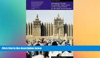 Best Price Managing Change: Sustainable Approaches to the Conservation of the Built Environment