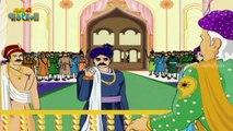 Akbar and Birbal - The Honest Trader - akbar birbal stories - hindi animated stories for kids