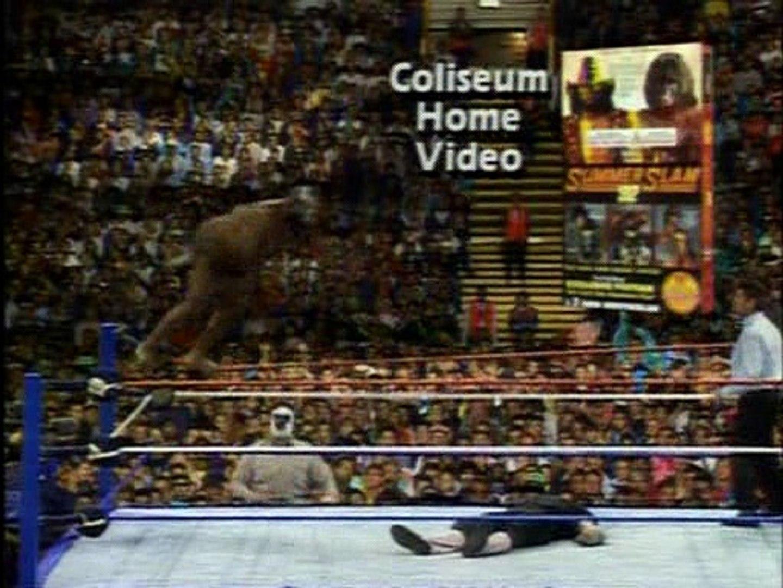 1992.11.25 Survivor Series - Coffin Match - Undertaker vs Kamala