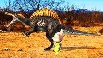 Cartoon Animated Animal Fights For Kids Colors Dinosaur Gorilla Bear Cheetah Godzilla Action Fights