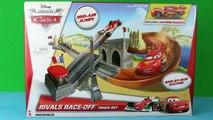 Disney Cars 2 Rivals Race-Off Track new Disney Cars Lightning McQueen, Rip Clutc