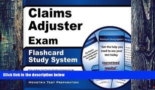 Pre Order Claims Adjuster Exam Flashcard Study Sys