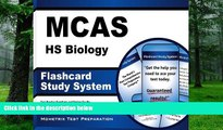 Download MCAS Exam Secrets Test Prep Team MCAS HS Biology Flashcard Study System: MCAS Test