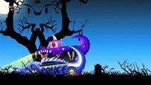 Monster Truck VS Police Car | Scary Monster Truck | Haunted House Monster Truck | Kids Videos