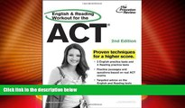 Price English and Reading Workout for the ACT, 2nd Edition (College Test Preparation) Princeton