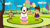 Hes A Jolly Good Fellow | Nursery Rhymes With Lyrics by HooplaKidz Sing-A-Long