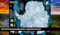 Pre Order Antarctica Satellite [Laminated] (National Geographic Reference Map) National Geographic