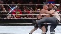 WWE Highlights - Brock Lesnar vs Bray Wyatt & Luke Harper - Full Match 02