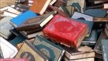 مسئولان سفارت عربستان در مراکش چندین نسخه قرآن و کتابهای دینی را دور ریختند!