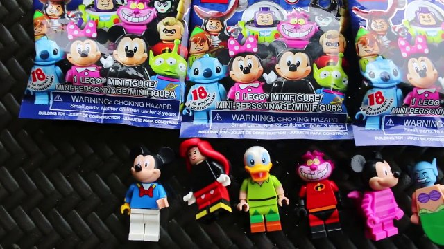 DISNEY WRONG HEADS Lego Disney SURPRISES + Wrong Head Cooking Play Kitchen Play Set Play Doh Fun