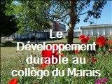 Le développement durable au collège du Marias (Saint-Jean de Daye)