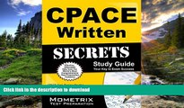 Pre Order CPACE Written Secrets Study Guide: CPACE Test Review for the California Preliminary