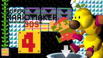 Lets Play - Super Mario Maker 3DS ONLINE [04] Mario in der Portelwelt und Tanz Party mit Wiggler