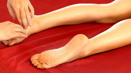 Part 2 HD Foot Massage Tutorial for Pain Relief, Relaxing Music, How to Massage Feet, 60 fps