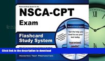 Pre Order Flashcard Study System for the NSCA-CPT Exam: NSCA-CPT Test Practice Questions   Review