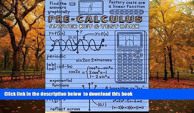 BEST PDF A Teaching Text Books PRE Calculus Text Books And The Answer Keys   BOOK ONLINE