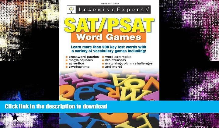 Hardcover SAT/PSAT Word Games Kindle eBooks
