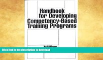 READ Handbook for Developing Competency-Based Training Programs Kindle eBooks