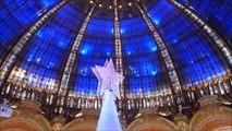 Galeries Lafayette vitrines de Noël 2016
