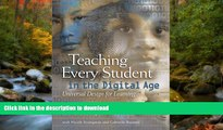 Hardcover Teaching Every Student in the Digital Age: Universal Design for Learning Kindle eBooks
