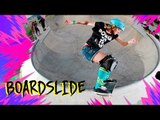 COMO ANDAR DE SKATE: FS BOARDSLIDE | Karen Jonz