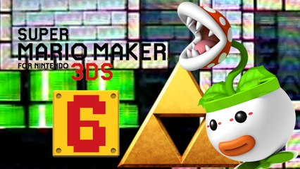 Lets Play - Super Mario Maker 3DS ONLINE [06] Zelda Dungeon im Mario Style