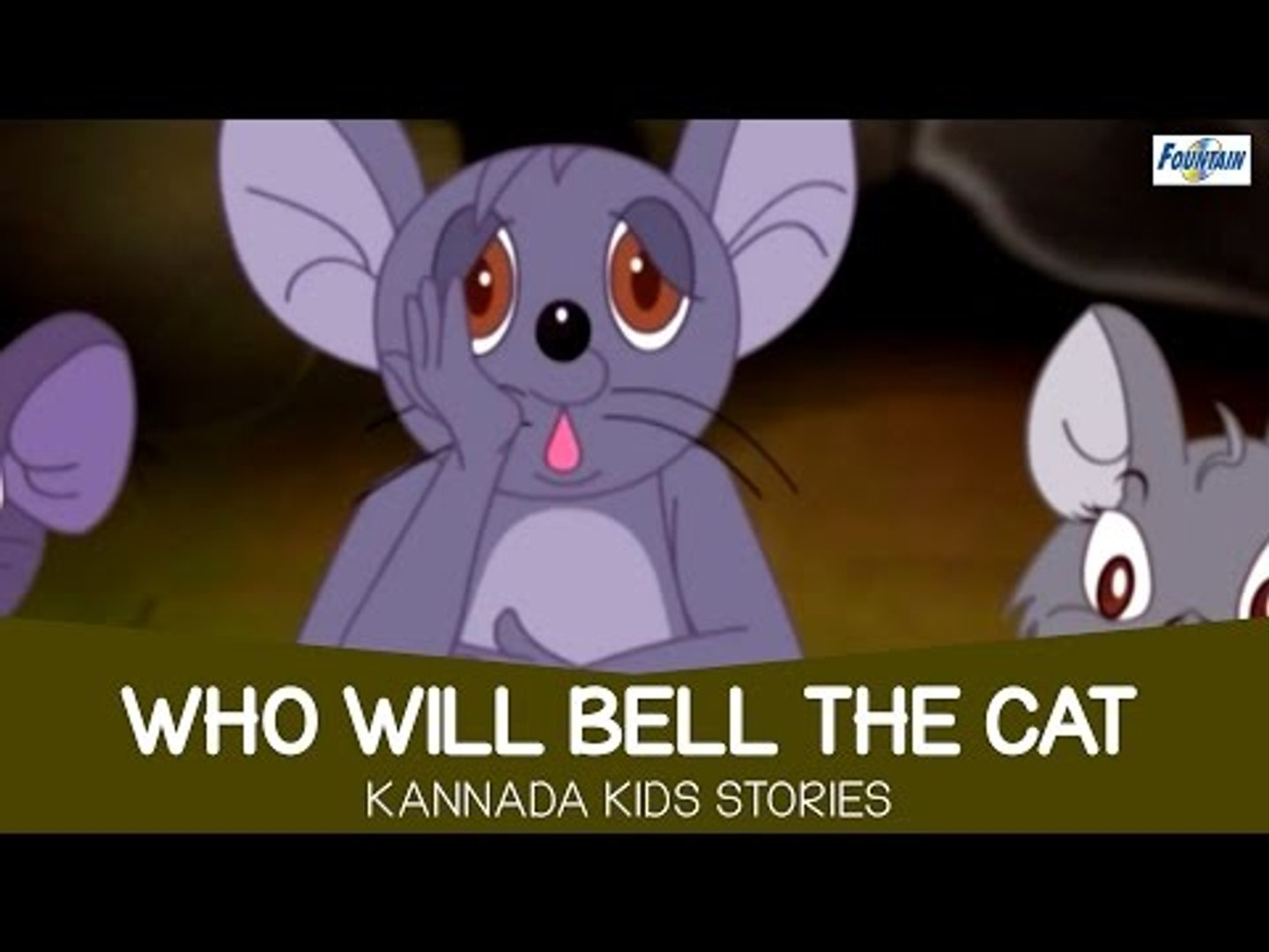 Who Will Bell The Cat - Moral Tales for Kids | Kannada Stories for Kids