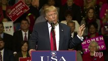 Donald Trump's second 'USA Thank You Tour 2016' speech, in three minutes