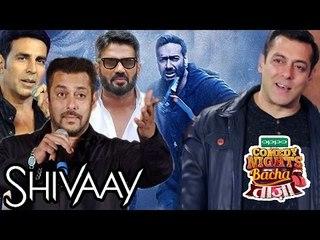 Bollywood Promotes Ajay Devgn's Shivaay, Salman Khan On Comedy Nights Bachao Taza | Bollywood News