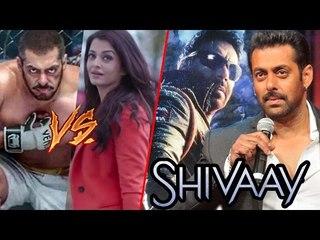 Salman PROMOTES SHIVAAY & ADHM, Aishwarya Rai BEATS Salman's SULTAN Record