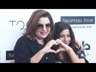 UNCUT : Farah Khan & Raveena Tandon At Shoppers Stop To Launch Of Love Genration Shop
