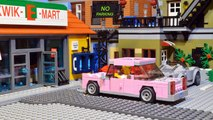Lego Simpsons Shopping Movie. Homer Simpson in Kwik E Mart. Never eat Homer Simpson's Donuts