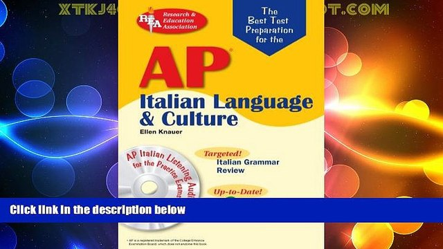 Price AP Italian Language and Culture w/ Audio CDs (Advanced Placement (AP) Test Preparation)